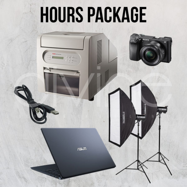 Photobooth Hours Package (3 Hours)